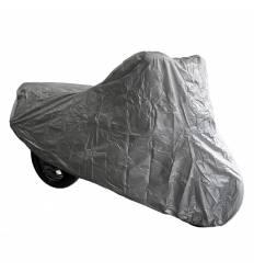 Чехол для мотоцикла, цвет Серый 183x89x119 см 11106, Размер S