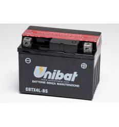 Аккумулятор UNIBAT YT4L-BS/YTX4L-BS