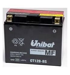 Аккумулятор UNIBAT YT12B-BS