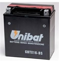 Аккумулятор UNIBAT YTX16-BS