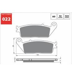 Тормозные колодки GOLD FREN Sintered S3 022 (FA142)