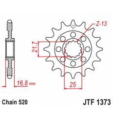 Звезда передняя (ведущая) 17 зубьев 3D417 стальная / JTF1373-17