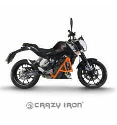 Дуги + слайдеры KTM Duke 125/200/390 2011-2016, цвет Оранжевый CRAZY IRON 90011