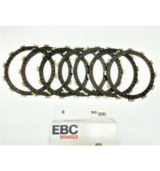 Диски сцепления Kawasaki ZZR 400 / ZZR 600 / ER 6 / Versys 650 EBC CK4424 (комплект)