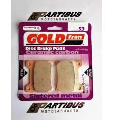 Тормозные колодки GOLD FREN Sintered S3 015 / FA088