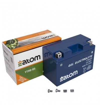 Аккумулятор YT9B 4 YT9B BS  GEL Atom гелевый