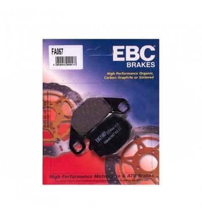 Тормозные колодки EBC FA067 / FA 067