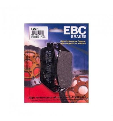 Тормозные колодки передние EBC FA142