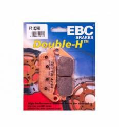 Тормозные колодки передние EBC FA142HH DOUBLE H Sintered