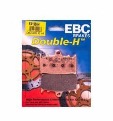 Тормозные колодки передние EBC FA158 HH DOUBLE H Sintered