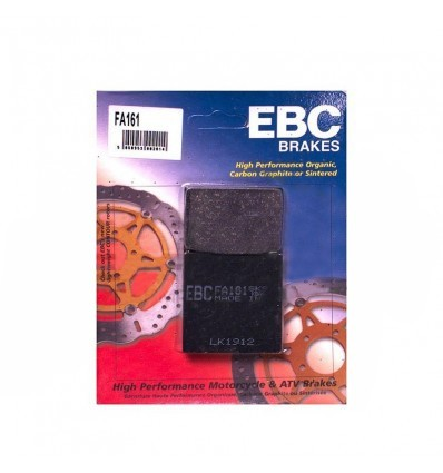 Тормозные колодки задние EBC FA161