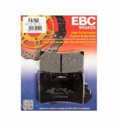 Тормозные колодки передние EBC FA160