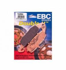 Тормозные колодки передние EBC FA229 HH DOUBLE H Sintered