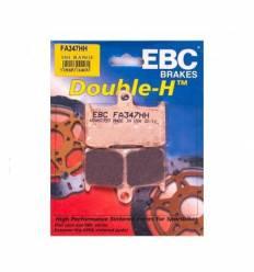 Тормозные колодки передние EBC FA347 HH DOUBLE H Sintered