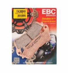Тормозные колодки передние EBC FA388 HH DOUBLE H Sintered