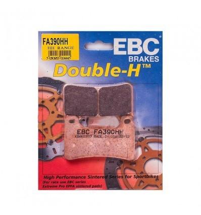 Тормозные колодки передние FA390HH DOUBLE H Sintered