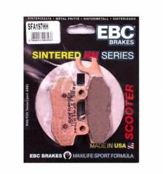 Тормозные колодки передние правые для Suzuki Skywave / Burgman 07-15 EBC SFA197HH