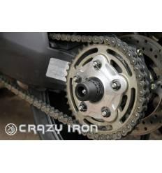 Слайдеры в ось заднего колеса для Ducati (список моделей в описании)