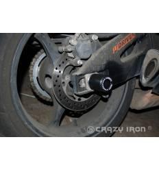 Слайдеры в ось заднего колеса для Suzuki GSX R600 / GSX R 750 06-10 CRAZY IRON 2013