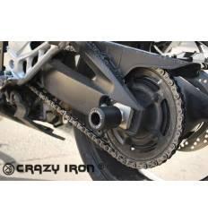 Слайдеры в ось заднего колеса для Suzuki GSR 400 / GSR 600 06-11 CRAZY IRON 2201