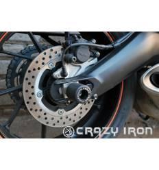Слайдеры в ось заднего колеса для Yamaha MT 09 2014- по наст. времяCRAZY IRON 3401