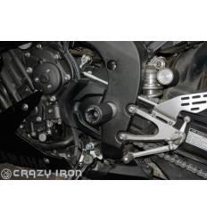 Слайдеры в ось маятника для Yamaha YZF R1 07-14 CRAZY IRON 3006