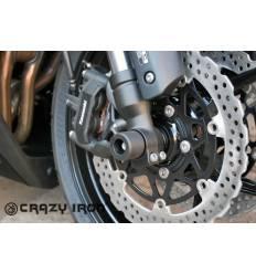 Слайдеры в ось переднего колеса для Kawasaki Z1000 / Z1000SX 10-16 CRAZY IRON 4054