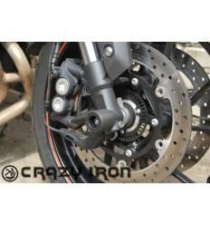 Слайдеры в ось переднего колеса для Yamaha MT 09 2014- по наст. время CRAZY IRON 3402