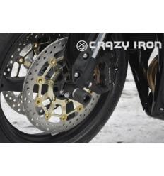Слайдеры в ось переднего колеса для Honda CBR600RR 07- наст. время CRAZY IRON 1048A